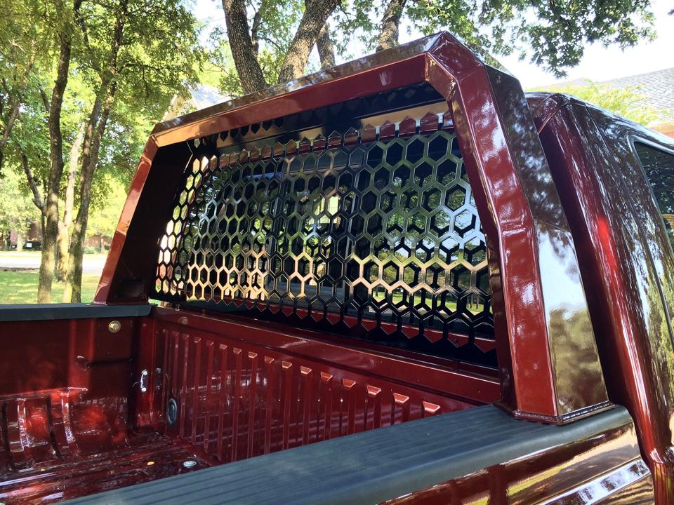 New Custom Designed Ford Super Duty Headache Rack By