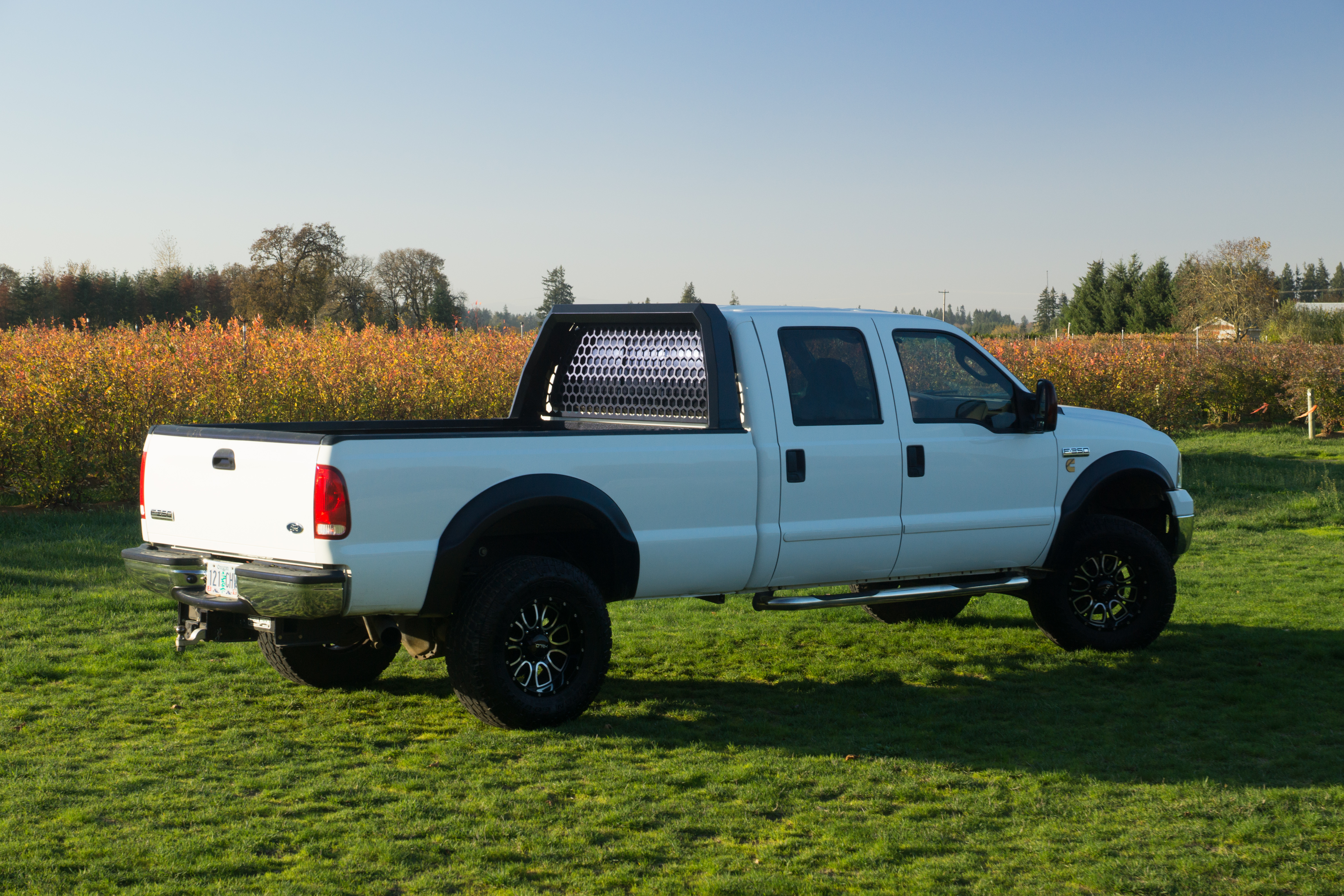 New custom designed Ford Super Duty headache rack by ...